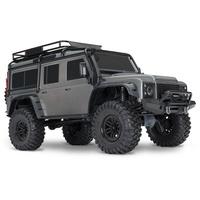 Traxxas Crawler TRX-4 Land Rover 4CH RTR TQi silber 82056-4