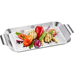 GEFU Grillpfanne BBQ, Edelstahl (1-tlg) 18,7 cm x 33 cm x 2,5 cm