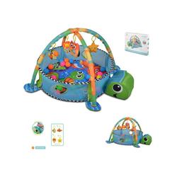 Cangaroo Spielbogen Spielbogen Sea Turtle, Krabbeldecke, Stofftiere, Bällebad mit 30 Bällen
