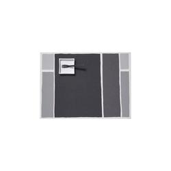 Chilewich Platzset Tischset Maptone, grau - 2er Set