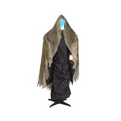 EUROPALMS Dekofigur DER TOD - lebensgroße Halloween-Gruselfigur - 165cm - Lichteffekte und Geräusche - Sensoraktivierung