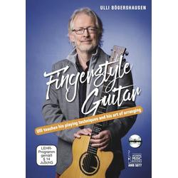 Fingerstyle Guitar m. DVD-ROM