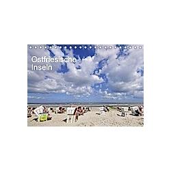 Ostfriesische Inseln (Tischkalender 2021 DIN A5 quer)
