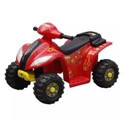 vidaXL Scooter Kinder Elektro Quad 3 km/h Akku rot