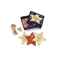 24 Sterne im Advent