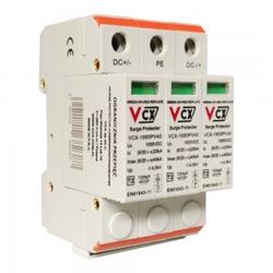 Überspannungsschutz 1000V DC 3P 40kA T2 C Gas Ableiter 2387