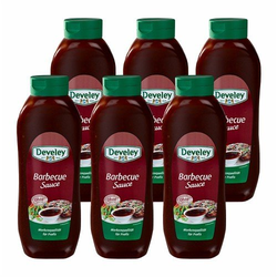 Develey 'Barbecue Sauce' Salsa Barbecue 875ml 6er Pack