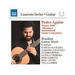 Pedro Aguiar - PEDRO AGUIAR GUITAR LAUREATE RECITAL (CD)
