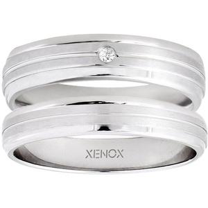 XENOX Partnerring Xenox & Friends, X2547, X2548, wahlweise mit oder ohne Zirkonia 58