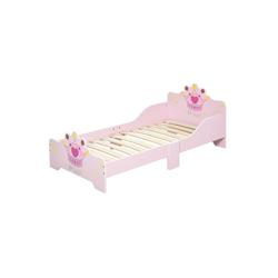 HOMCOM Kinderbett Kinderbett mit Rausfallschutz
