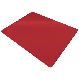 Floordirekt Bodenschutzmatte Economy, für Teppichböden rot