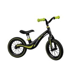 HUDORA® HUDORA® Laufrad Eco 12, schwarz/limegrün 10372