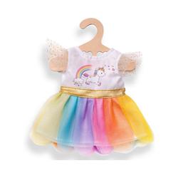 Heless Puppenkleidung Einhorn-Kleid Henri Gr. 28-35 cm, Puppenkleidung