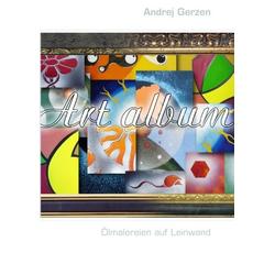Ölmalereien auf Leinwand als Buch von Andrej Gerzen