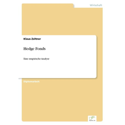 Hedge Fonds als Buch von Klaus Zeltner