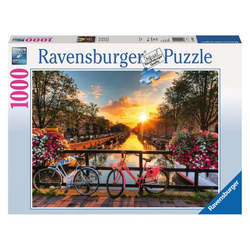 Ravensburger Puzzle Fahrräder in Amsterdam, 1000 Puzzleteile