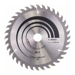 Bosch Kreissägeblatt Optiline Wood für Handkreissägen 165 x 20/16 x 1,7 mm 36