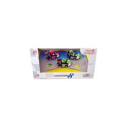 Stadlbauer Spielzeug-Auto Pull & Speed MARIO KART 8 3er Pack