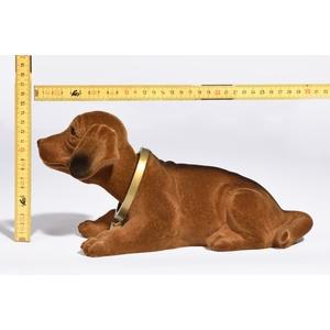 Wackeldackel 29cm für Oldtimer - braun