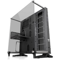 Thermaltake Core P5 TG Ti Space Gray, Bench/Show-Gehäuse grau, Tempered Glass