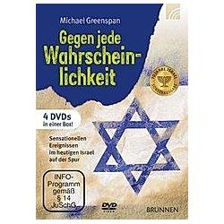 Gegen jede Wahrscheinlichkeit  4 DVDs - DVD  Filme