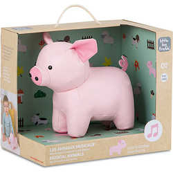 The Musical Animals - Leon the Pig pink