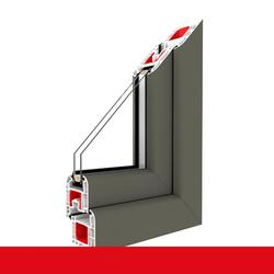 Bodentiefe Fenster Basaltgrau Glatt - Dreh-Kipp Fenster 2-fach / 3-fach Glas
