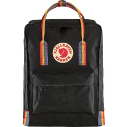 Fjällräven - Kånken Rainbow Black-Rainbow Pattern - Rucksäcke