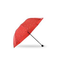 Sonia Originelli Taschenregenschirm Regenschirm Anker maritim blau rot, maritim rot