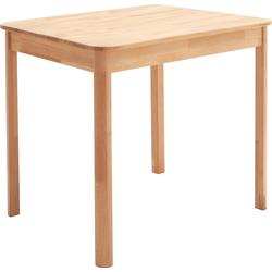MCA living Esstisch Oskar, Massivholztisch, wahlweise in Kernbuche oder Wildeiche braun Holz-Esstische Holztische Tische