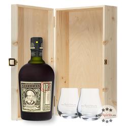 Geschenk-Set Botucal Rum in Holzkiste