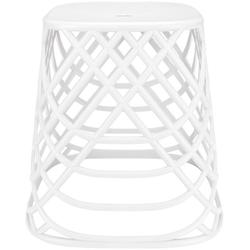 Kleine Wolke Hocker Scandic Chair (1 St), moderner Hocker mit 2in1 Funktion weiß