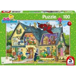 Schmidt Spiele Puzzle Bibi Blocksberg, Bei Blocksbergs ist was los!..., Puzzleteile