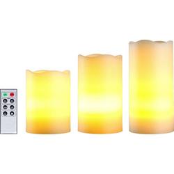 WS-BO-SW3 LED-Kerze 3er Set