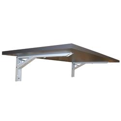 KDR Produktgestaltung Klapptisch Wandklapptisch Wandtisch Klapptisch Küchentisch Schreibtisch Büro Homeoffice, Anthrazit grau