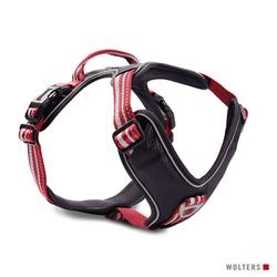 Wolters Geschirr Active Pro rot/schwarz, Größe: 7