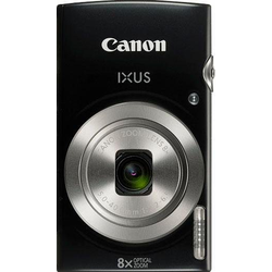 Canon IXUS 185 Superzoom-Kamera (20 MP, 8x opt. Zoom, Gesichtserkennung) schwarz