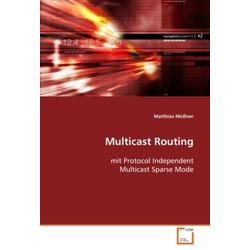 Multicast Routing als Buch von Matthias Moßner