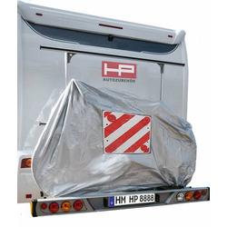 HP Autozubehör Fahrradschutzhülle mit Warntafeltasche (L x B x H) 100 x 198 x 139cm Passend für: