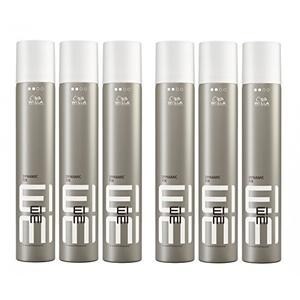 Wella EIMI Dynamic Fix 45 Sec. Haarspray 6 x 500 ml Styling Fixing Hairspray Modeling Spray Professionals by Wella