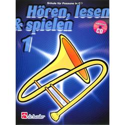 Hören, lesen & spielen 1 für Posaune in C