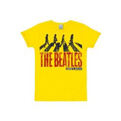 LOGOSHIRT T-Shirt mit The Beatles-Print The Beatles - Abbey Road bunt M