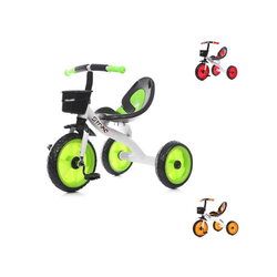 Chipolino Dreirad Dreirad Strike, ab 3 Jahre max. Traglast 25 kg komfortabler Sitz grün