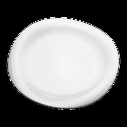 Georg Jensen Cobra Abendbrotteller 27 cm Weiß Porzellan
