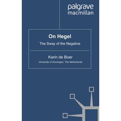 On Hegel als Buch von Karin De Boer/ Karin de Boer
