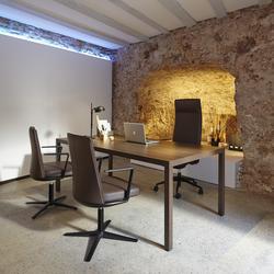 Schreibtisch 100 cm tief günstig Prisso