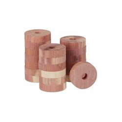 relaxdays Kleiderschrank Mottenschutz aus Zedernholz 20 Stück