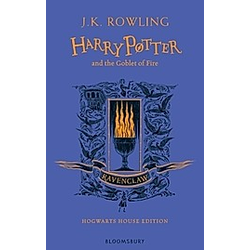 Harry Potter and the Goblet of Fire - Ravenclaw Edition. J.K. Rowling  - Buch