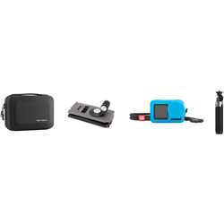 Pgytech Osmo Action Travel Set (Diverses Zubehör, Osmo Action), Actioncam Zubehör, Blau, Schwarz