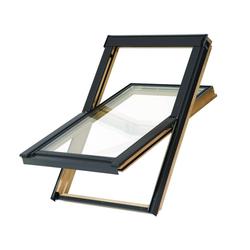 Balio Dachfenster Holz incl. Universal - Eindeckrahmen 0-50mm